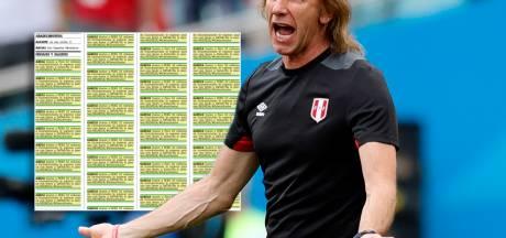 Fan wil dat bondscoach Peru blijft en plaatst tientallen advertenties