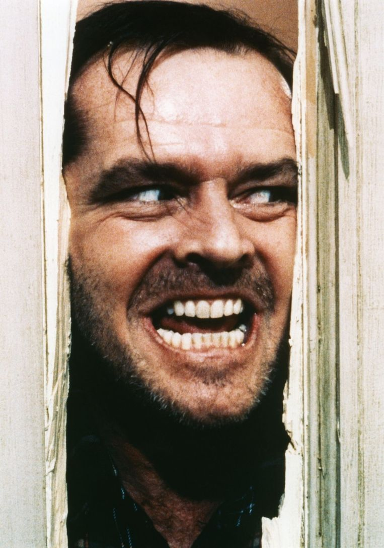 Jack Nicholson in 'The Shining'.