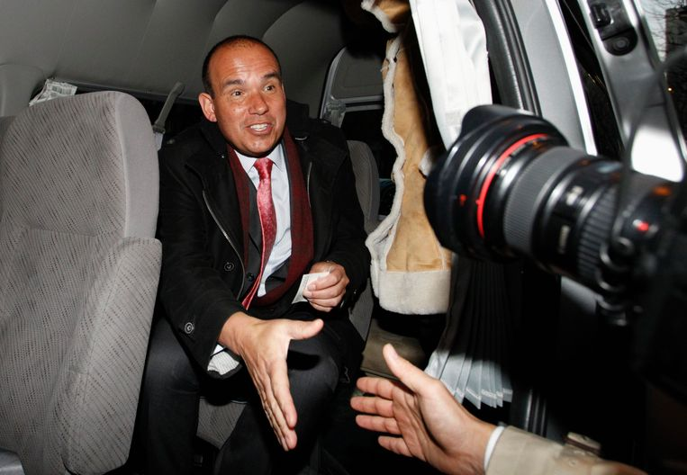 Michael Woodford, voormalig CEO bij Olympus. Hij werd ontslagen nadat hij de fraudezaak bij het bedrijf aan het licht had gebracht. Beeld REUTERS