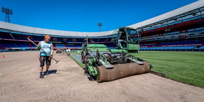 8000 vierkante meter gras van Champions League-kwaliteit
