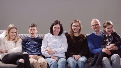 """Roeselaarse familie vanaf woensdag te zien in Het Gezin: """"We willen tonen hoe het er echt aan toe gaat in een gezin met een kind met een beperking"""""""