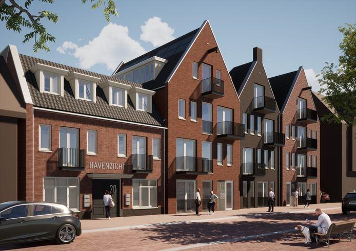 Binnen een paar weken verkocht Van de Laar Makelaardij de 18 appartementen Havenzicht aan het Heilig Hartplein in Veghel.