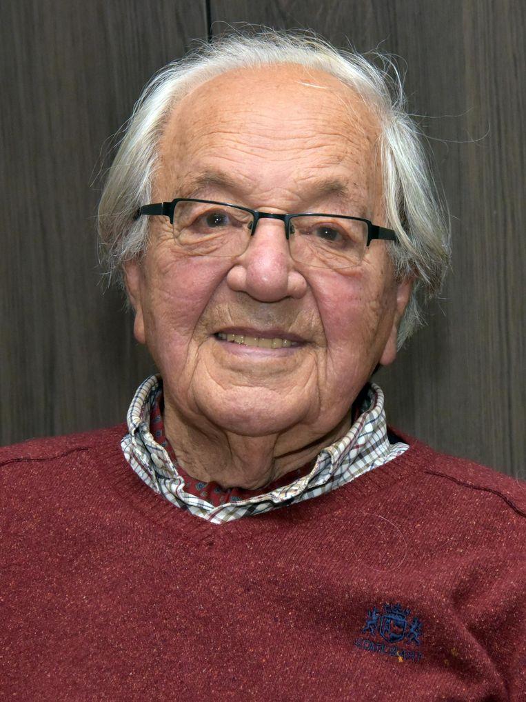 Jan Nagels is 97 jaar.