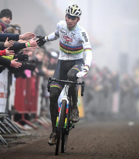 Eén versnelling volstaat voor Van der Poel in Kasteelcross