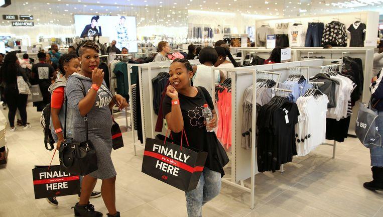 Eind april opende de Mall of America in Johannesburg, het grootste winkelcentrum van Zuidelijk Afrika, met 300 winkels en restaurants. Veel internationale merken zijn er gevestigd. Beeld Reuters