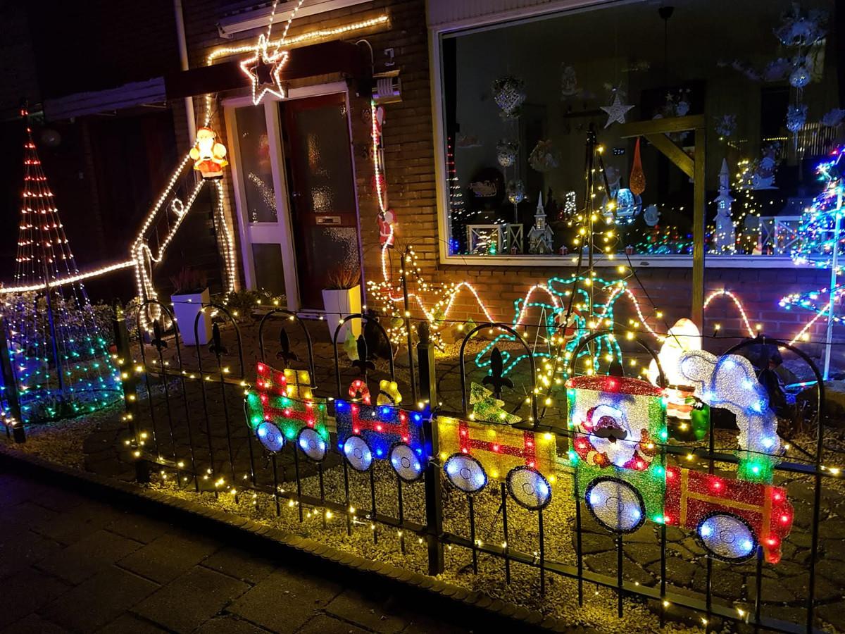 Een kersthuis. Foto ter illustratie.