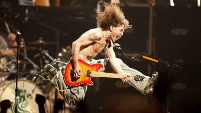 Van Halen 1300 procent meer gestreamd in VS na dood Eddie