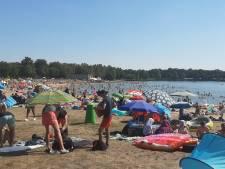 Chaos blijft na weekend vol drukte uit bij zwemplas 't Hilgelo in Winterswijk