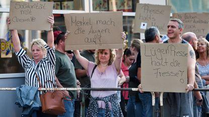 Extreemrechtse AfD en anti-islambeweging Pegida plannen samen demonstratie in Chemnitz