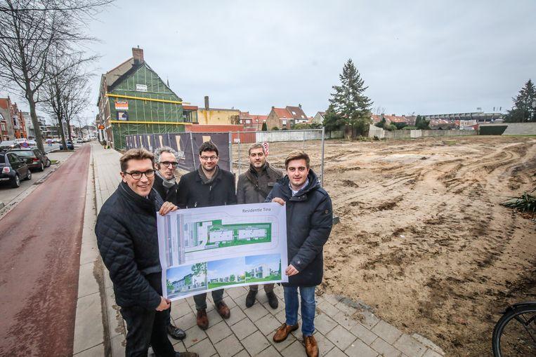Brugge nieuw bouproject residentie Tina Gistelse Steenweg