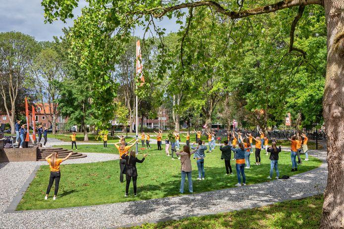 Breda - De introductieweek van Breda University vond dit jaar vanwege corona zowel online als offline plaats.