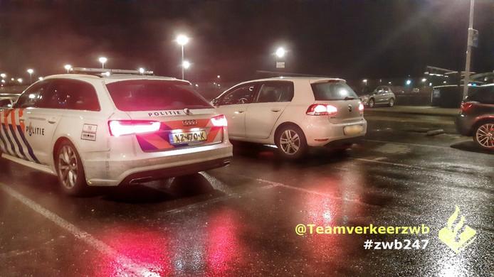 In Breda werden acht rijbewijzen ingevorderd bij een controle vlakbij werkzaamheden.
