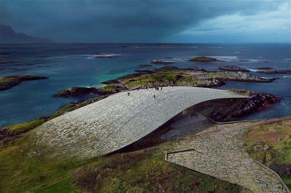 'The Whale' zal in 2022 opengaan op het eiland Andenes