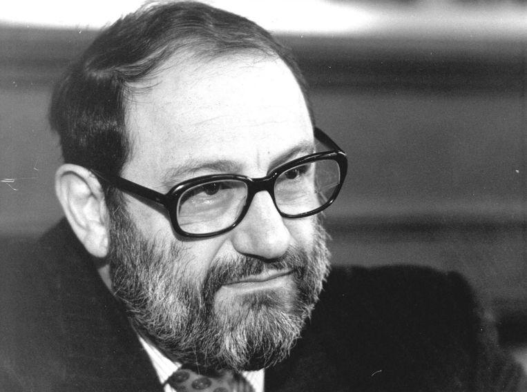 Umberto Eco in 1989. Beeld anp
