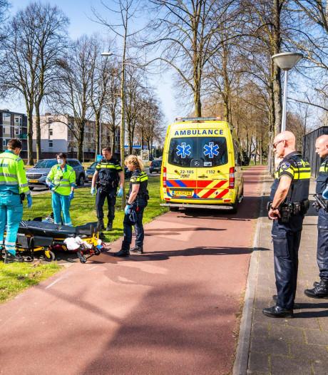 Voetganger naar ziekenhuis na botsing met scooter in Eindhoven