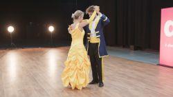 Kat Kerkhofs zorgt voor Disney-magie en danst op 'Beauty and the Beast'