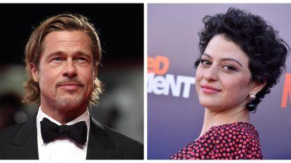 """Ondanks de geruchten: Brad Pitt en Alia Shawkat zijn """"gewoon vrienden"""""""