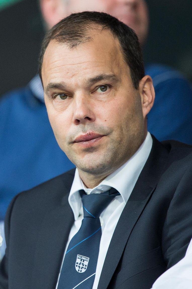 Technisch directeur Gerard Nijkamp van PEC Zwolle. Beeld anp