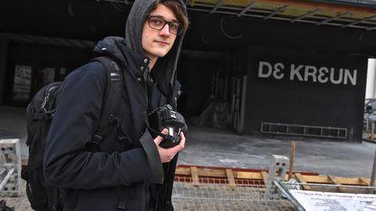 Kay mag de bands fotograferen in De Kreun