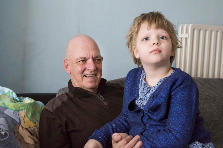Jean-Pierre Voncken en zijn dochter Sofie.