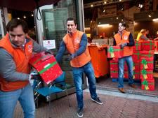 14.000 kerstpakketten inpakken voor voedselbank