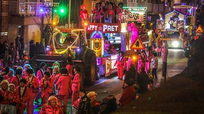 Vuûle Jeanetten, avondstoet... Carnaval is nu écht voorbij