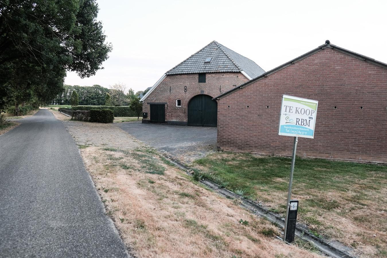Het woonhuis aan de Polweg in Wichmond.