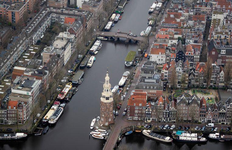 Het centrum van Amsterdam. Beeld ANP