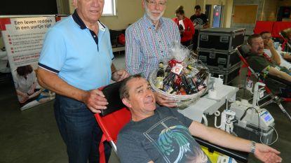 Luc Van De Walle geeft 150 keer bloed