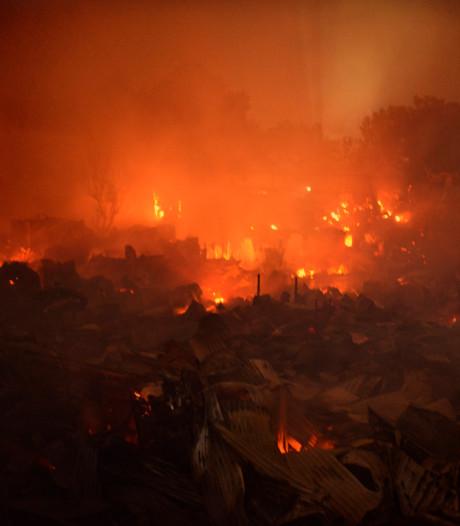 15.000 woningen in Dhaka verwoest door brand: geen doden