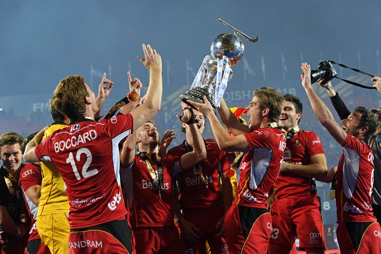 De Red Lions werden vorig jaar wereldkampioen.