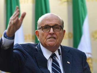 """Onderzoek naar Trumps """"geweldige advocaat"""" Rudy Giuliani vanwege illegaal gelobby"""