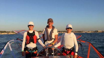 Liam en Emiel wagen hun kans op EK windsurfen voor junioren