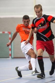 Zaalvoetballers LZV in eerste divisie B