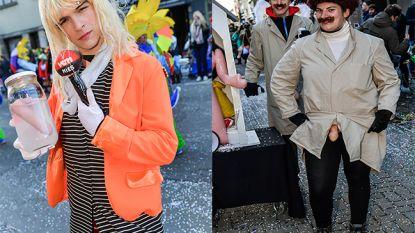 Lachen met Bo Van Spilbeeck en Bart De Pauw op Aalst carnaval