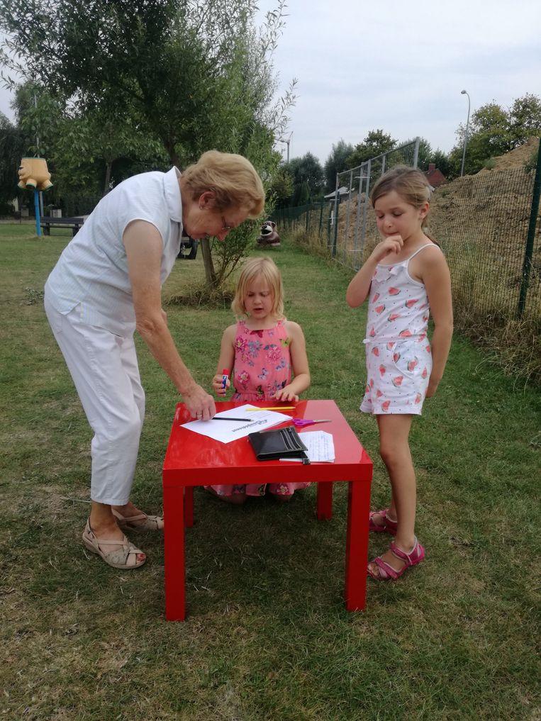De kinderen van de Sint-Rafaëlswijk mochten hun mening geven over het nieuwe speelplein.