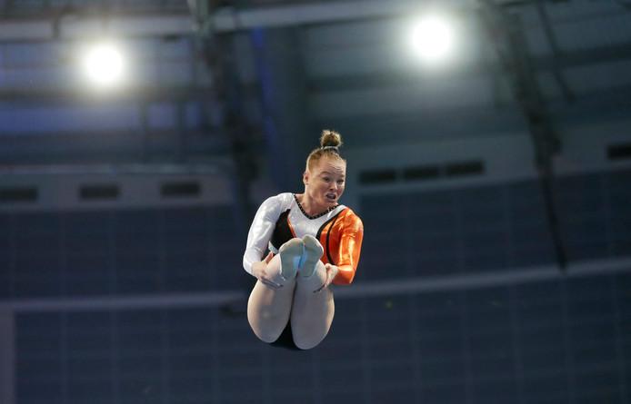 Romee Pol in actie in de finale in Minsk.