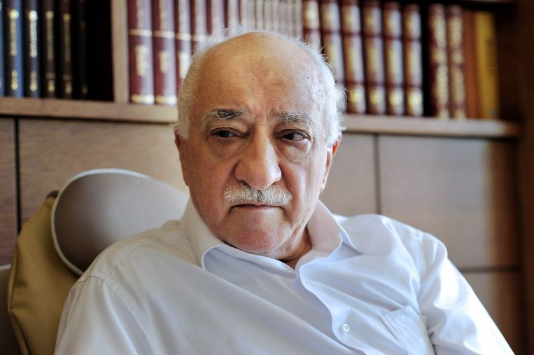 Fethullah Gülen, fel tegenstander van Erdogan en diens conservatief-islamitische AKP.