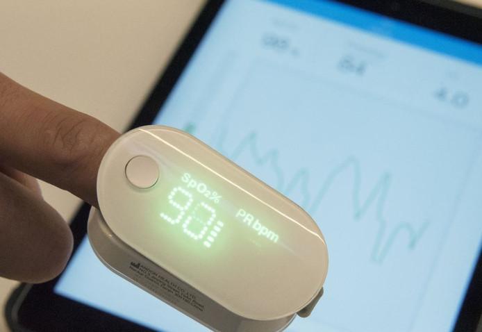 Een hartslagmeter voor je tablet
