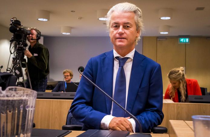 Wilders in de rechtbank.