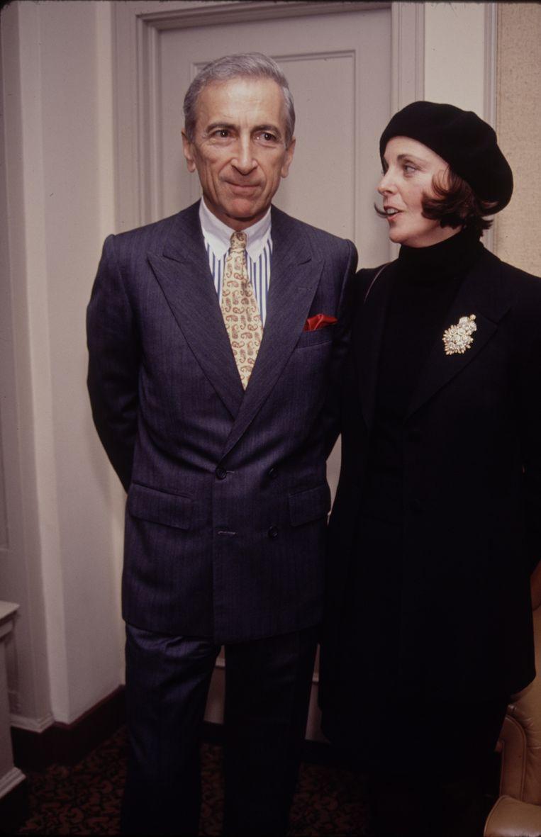 Talese met zijn vrouw Nan in 1990 Beeld Getty