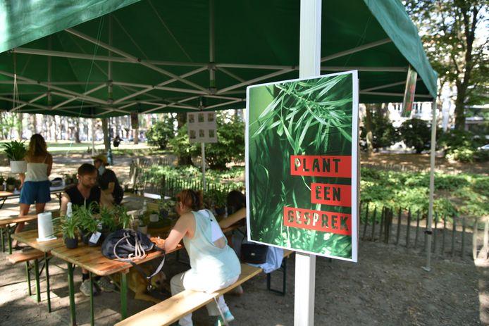 'Plant een gesprek' in Koekelberg.