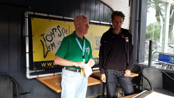 Organisator Willy van Zuijlen en Koen de Kort.