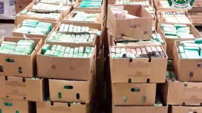 Transporteur achter megavangst van 7 ton coke