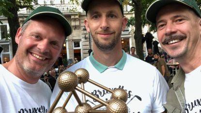 Team Kortrijkzanen is Belgisch kampioen urban golf