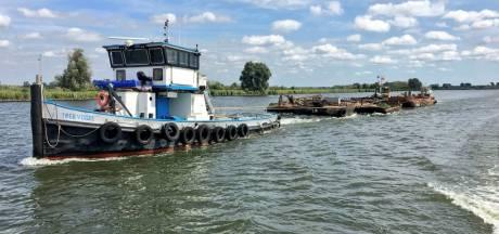 Scheepskerkhof in Werkendams haventje leeggehaald; dwangsom voor eigenaar afgeblazen