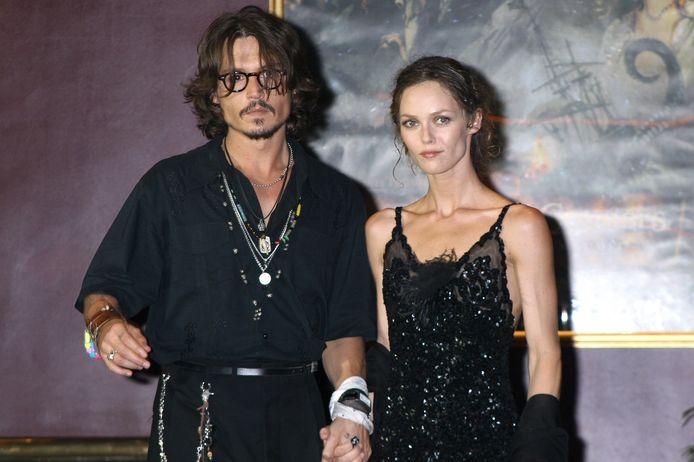 Johnny Depp et Vanessa Paradis / Archive