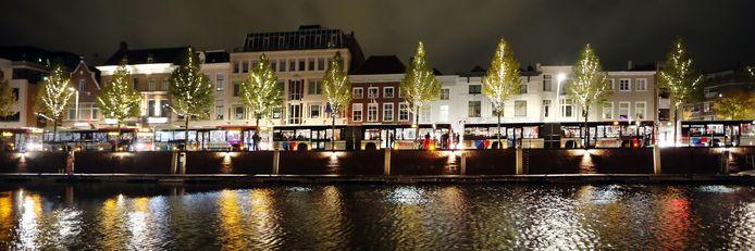 Stappers in het centrum van Breda komen op hun tocht naar huis niet zelden langs de haven en de singels.