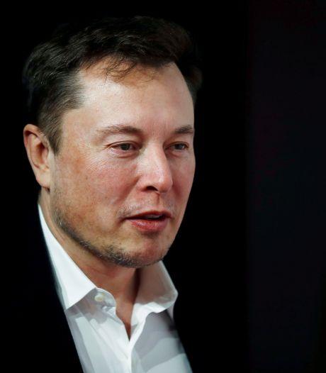 Le patron de Tesla appelle ses salariés à accélérer la cadence de production