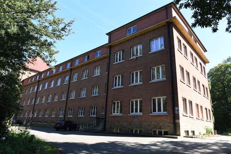 Schepenen Lalynn Wadera (sp.a), Lies Corneillie (Groen) en Carl Devlies (CD&V) zien een mooie toekomst voor de site van Scheut in Kessel-Lo.